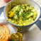 scrambled eggs, avocado, chives recipe