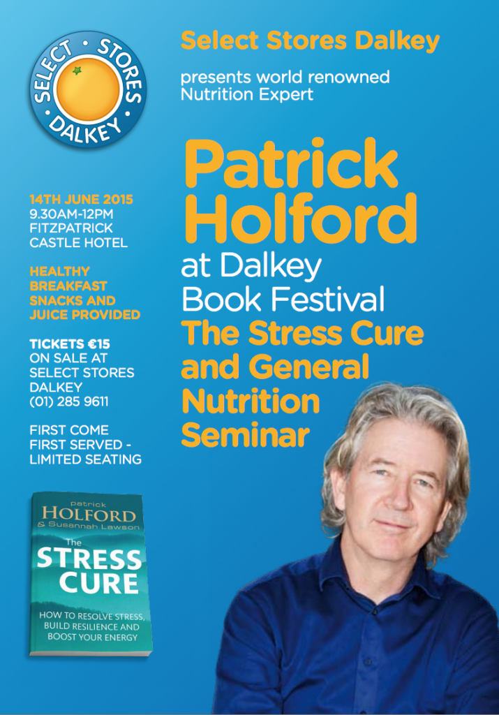 Patrick Holford Seminar